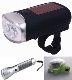 solar bike light Solar Flashlight Solar Gift